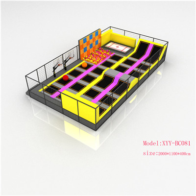 Amusement Trampoline Indoor Park For Kids and Adults