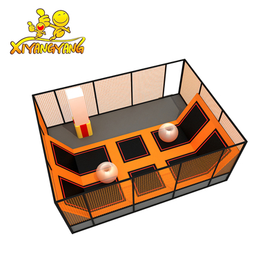 Small indoor trampoline park manufacuter