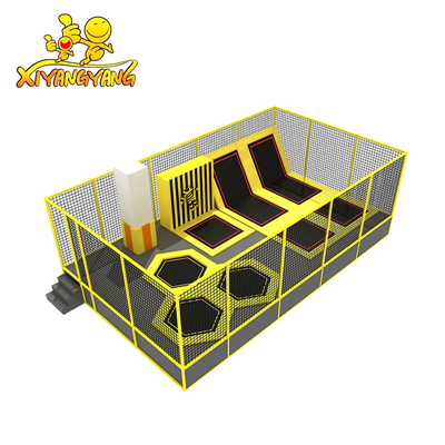 TOP SALE new custom made commercial trampoline for kids