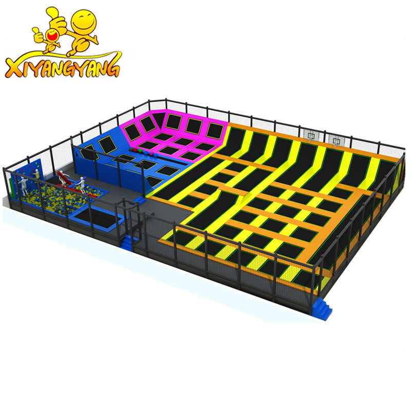 Big Bounce Amusement Indoor Trampoline Park Hot Trampoline Park