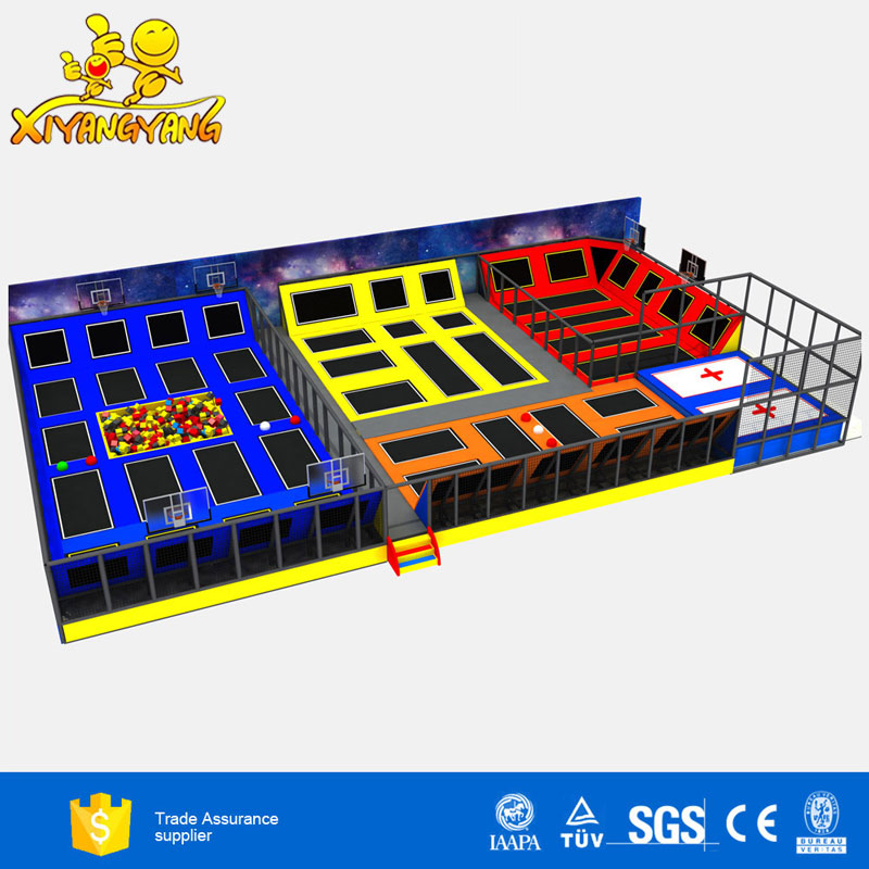 Commerical popular indoor gymnastic jump trampolines for sales