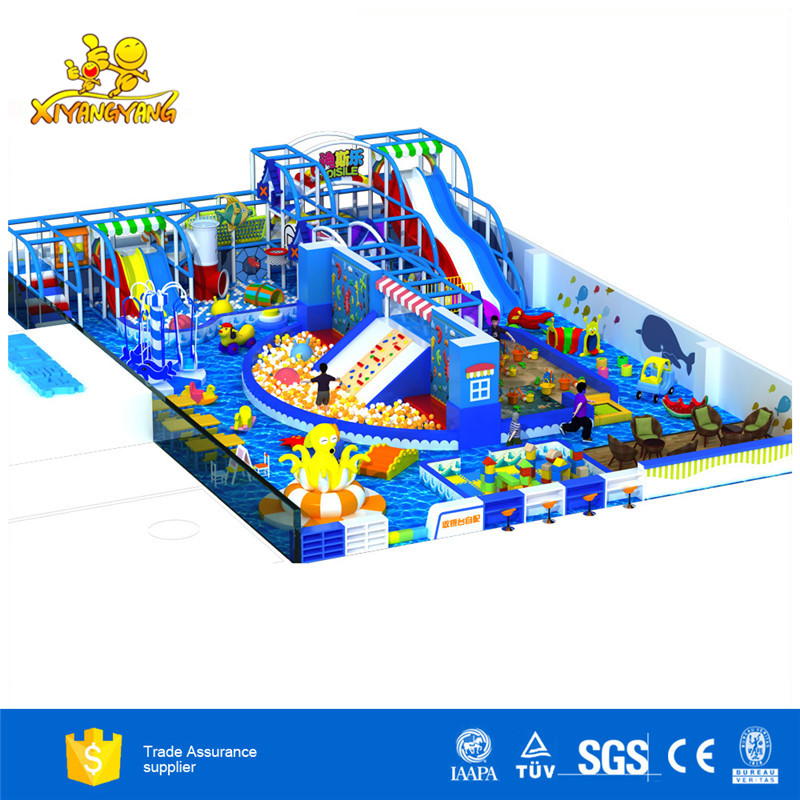 2019 New type safety children indoor playground equipment