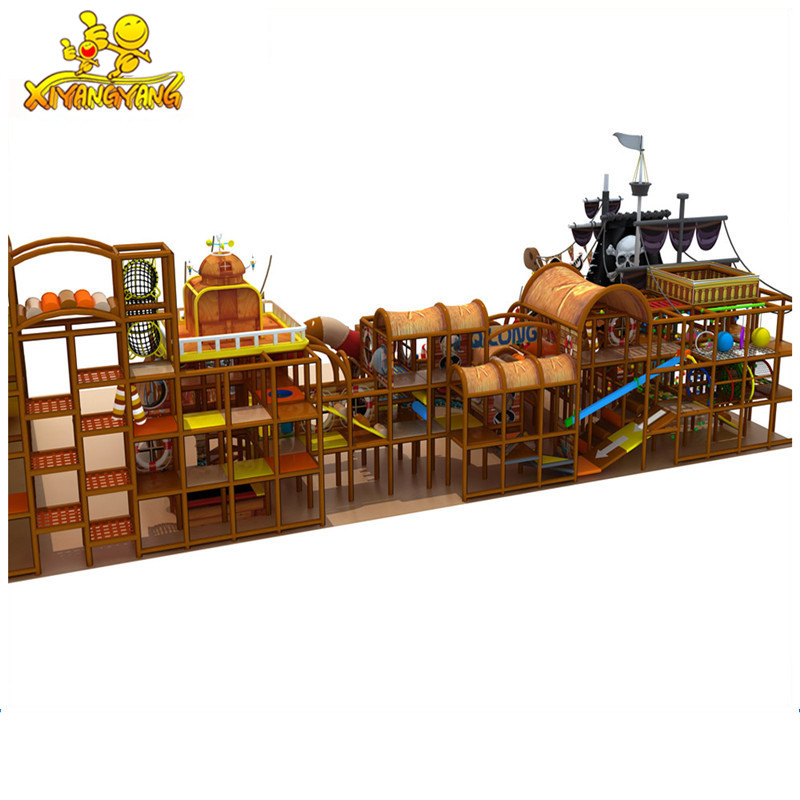 New design pirates theme children commercial indoor playground equipment for sale