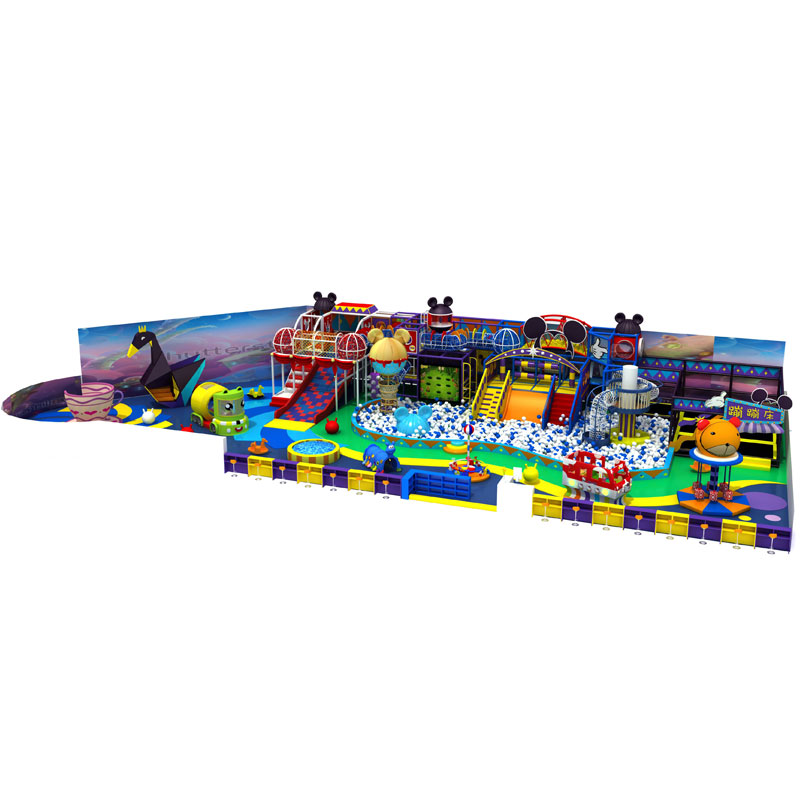 Colorful indoor children play area playground equipment for sale
