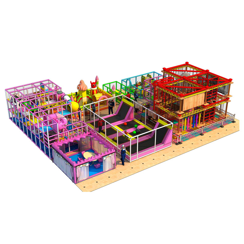 New arrival fascinating and design indoor playground hot-sale indoor playground for kiddie adventure course