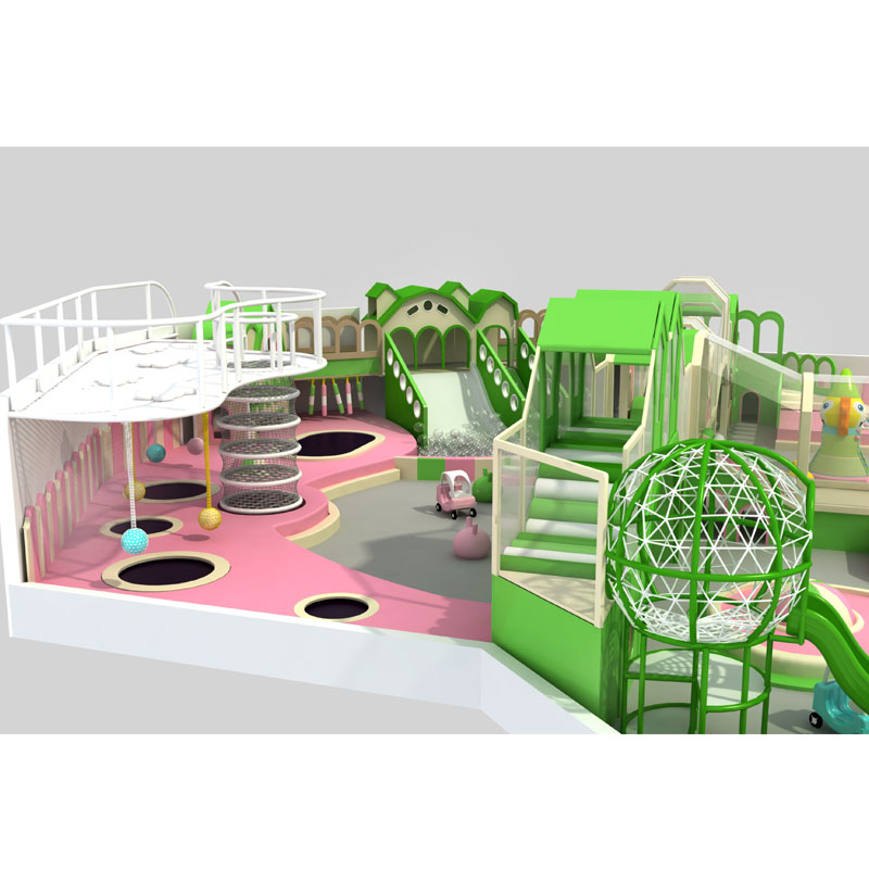2018 Newly Set Candy Theme Children Indoor Playground  For Sale