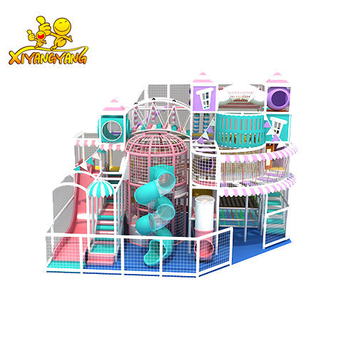 Princess castle candy indoor playground children entertainment equipment