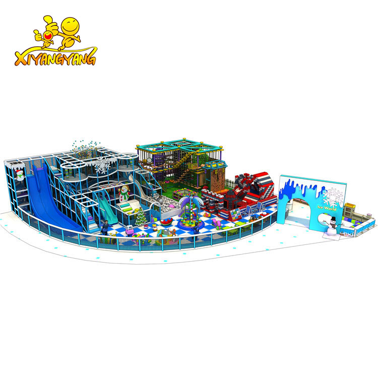 2019 New design commercial indoor playground equipment for hot sale