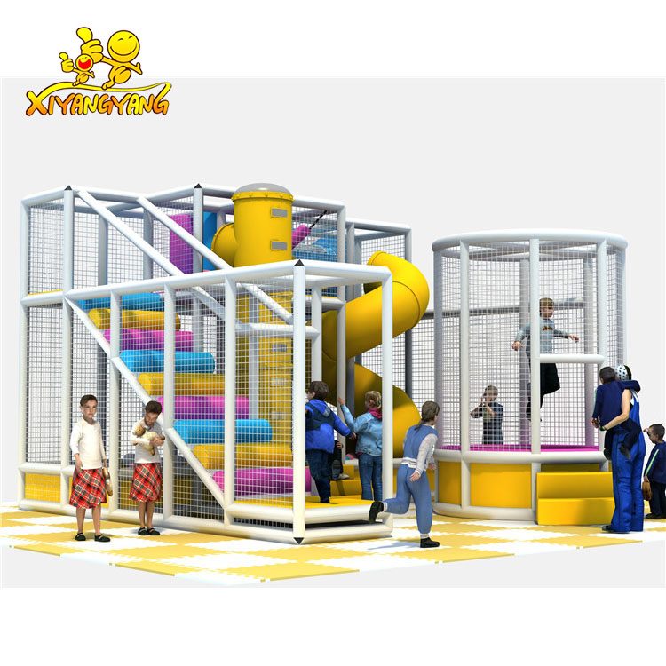 Simple structure easy installation indoor playground for kids