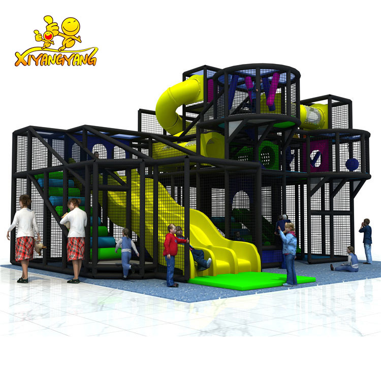 ASTM/ TUV certificated indoor playground children entertainment equipment