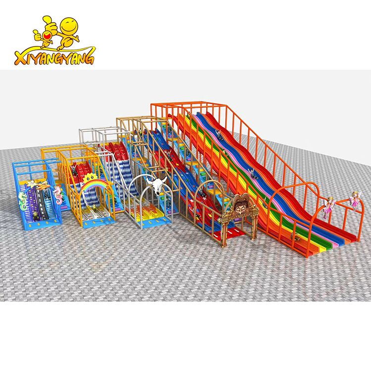 Indoor Playground Slide Park For Commercial Central, Shopping mall, Amusement Park