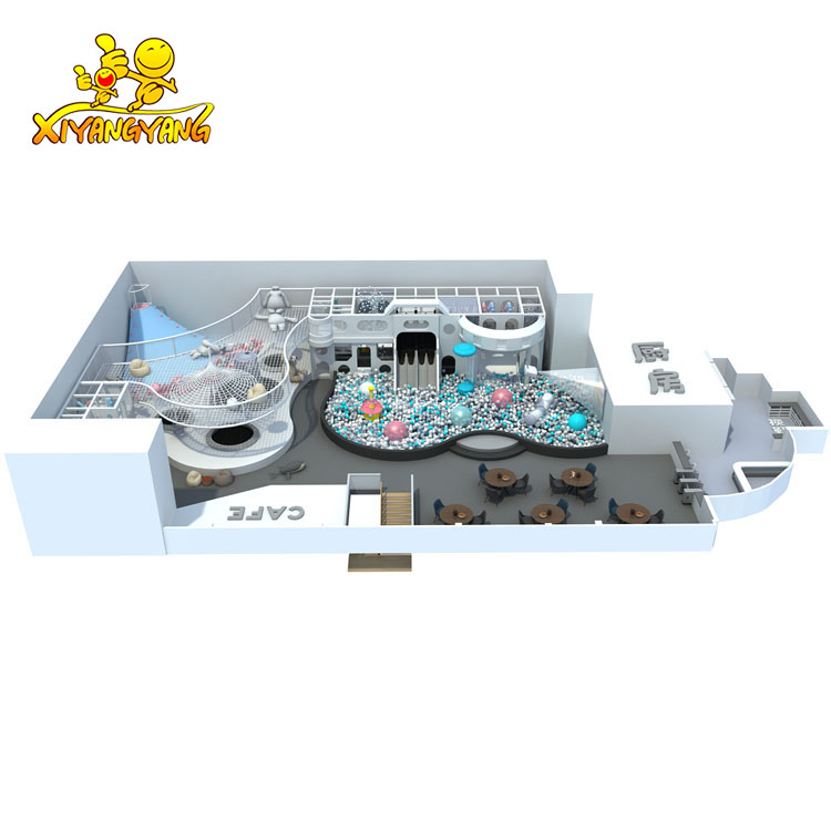 2019 New Arrivel High-End Custom  Fairy Tale World Playground