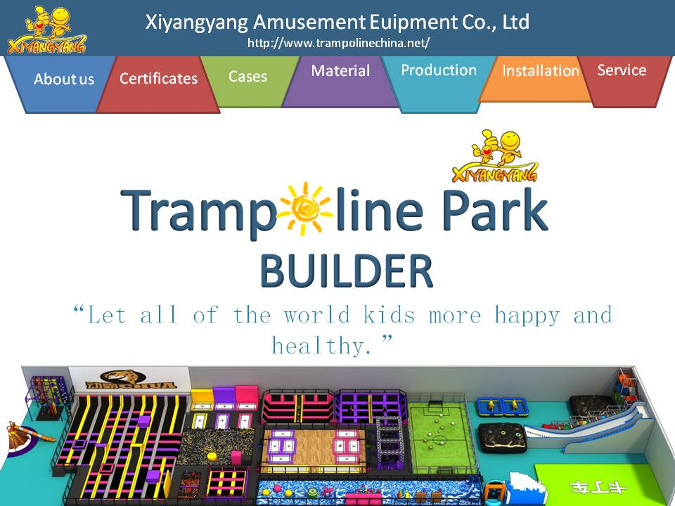 HOW DO WE MAKE INDOOR TRAMPOLINE PARK DESIGNS?