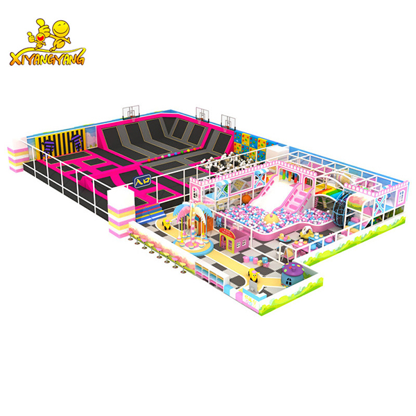 European Standard Trampoline Park with indoor playground for kids to enjoy and its for sale