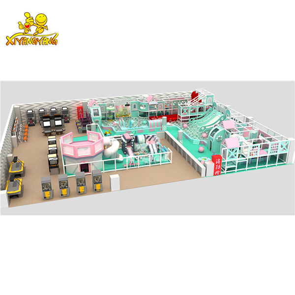 XYY 2019 Mordern theme Bright colors High Quality Baby Kids Children Soft Play Naughty Castle Indoor Playground For Sale