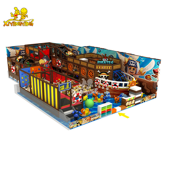 XYY ASTM Approved New Style Pirate Theme Indoor Playground Supplier