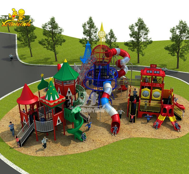 Kids outdoor playground items,used school outdoor playground equipment trees for sale