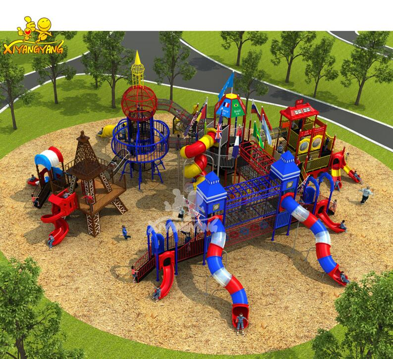High Quality Happy Garden Playground,Children Outdoor Playground
