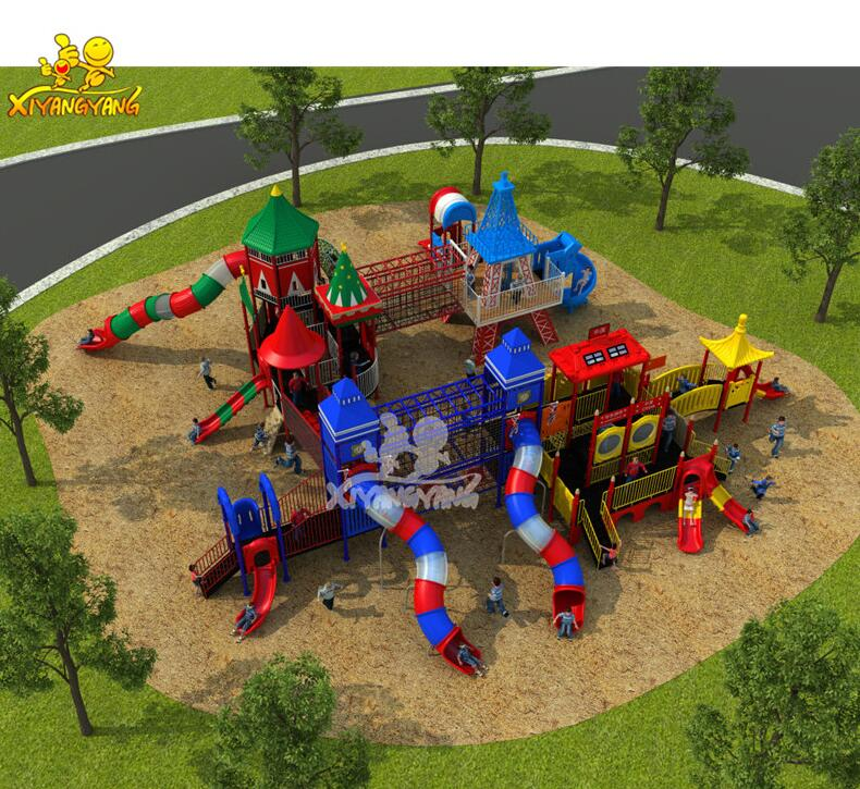 Cheap wholesale modern children outdoor playground