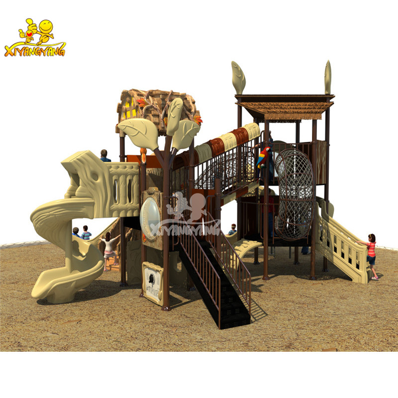Factory Supply 3-15 Year Kids Outdoor Playground