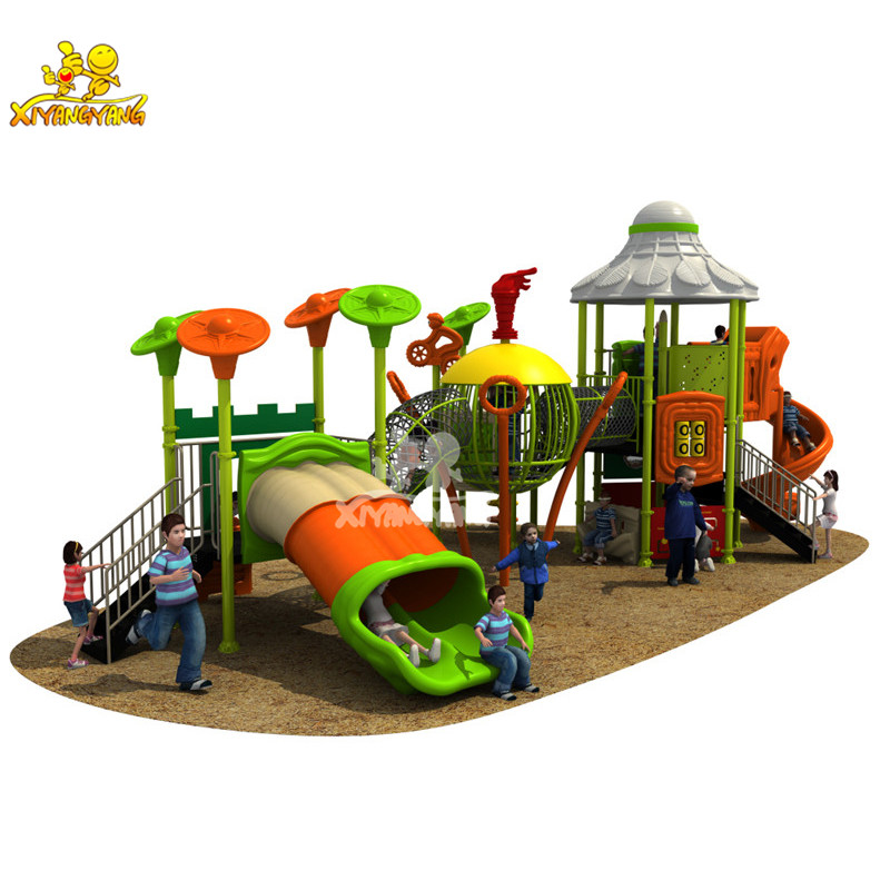 Children Badminton Theme Outdoor Playground Equipment