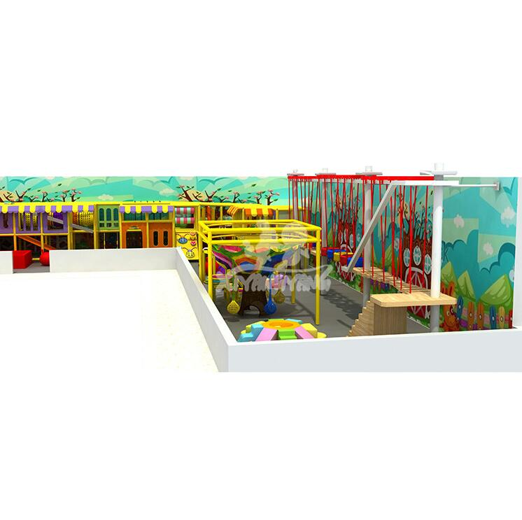 Hottest Indoor Playground, Children Happy Castle Play Party Center Equipment Play Zone