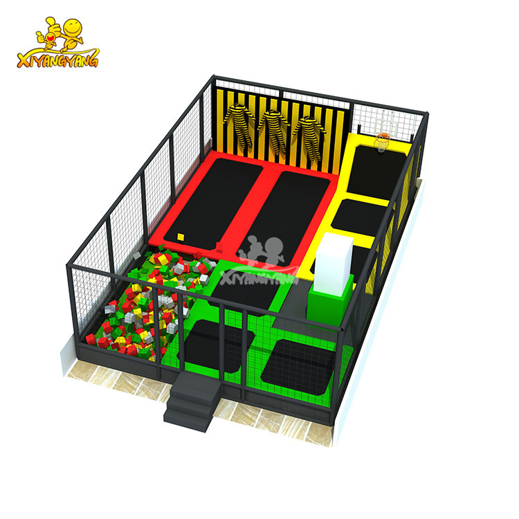 Small Trampoline For School, Shopping mall, entertainment center