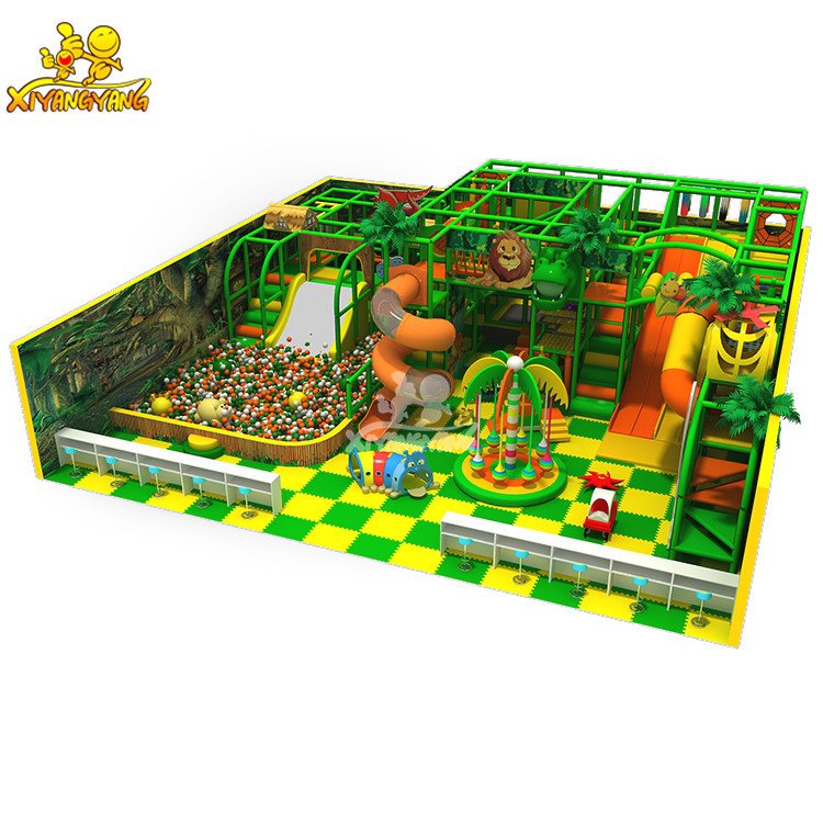 Hot sale jungle style indoor playground